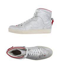 Kris Van Assche   Gray High-tops & Sneakers for Men   Lyst