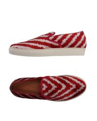 Max Verre - Red Low-tops & Sneakers for Men - Lyst