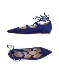 Roberto Festa | Blue Ballet Flats | Lyst