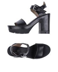 Janet & Janet | Black Sandals | Lyst