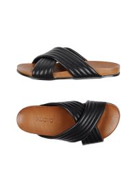 Inuovo - Black Sandals - Lyst