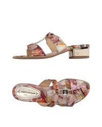 Loretta Pettinari - Pink Sandals - Lyst