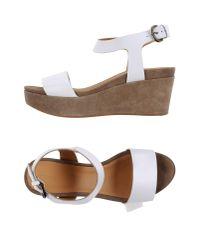 Brera Orologi - White Sandals - Lyst