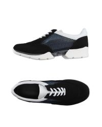 Emporio Armani | Black Low-tops & Sneakers for Men | Lyst