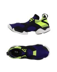 Y-3 | Purple Low-tops & Sneakers for Men | Lyst