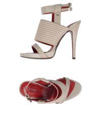 Cesare Paciotti - Natural Sandals - Lyst