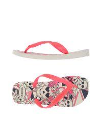 Havaianas | Purple Toe Post Sandal | Lyst