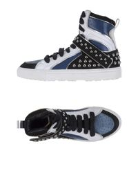 DSquared²   Blue High-tops & Sneakers for Men   Lyst