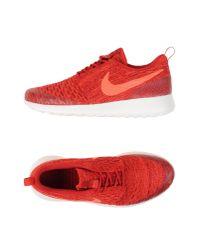 Nike | Red Low-tops & Sneakers | Lyst