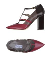 Jimmy Choo - Multicolor Vespa Color-block Leather Pumps - Lyst