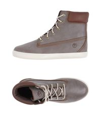 Timberland | Gray High-tops & Sneakers | Lyst