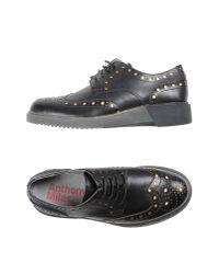 Anthony Miles - Black Lace-up Shoe - Lyst