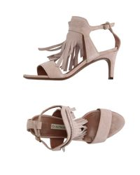 L'Autre Chose - Pink Sandals - Lyst
