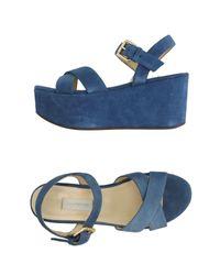 L'Autre Chose - Blue Sandals - Lyst