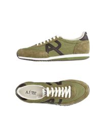 Armani Jeans | Green Low-tops & Sneakers for Men | Lyst