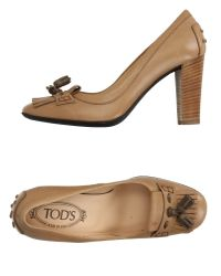 Tod's | Natural Loafer | Lyst