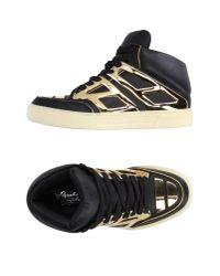 Alejandro Ingelmo - Black High-tops & Sneakers - Lyst