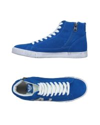 Armani Jeans | Blue High-tops & Sneakers for Men | Lyst