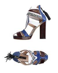 Susana Traça - Blue Sandals - Lyst