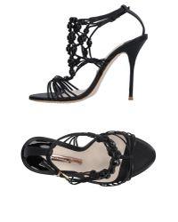 Sophia Webster | Black Sandals | Lyst