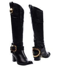 Dolce & Gabbana - Black Boots - Lyst