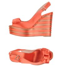 Castaner - Orange Sandals - Lyst