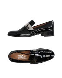 Ferragamo - Black Loafer - Lyst
