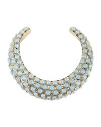 Elie Saab - Blue Necklace - Lyst
