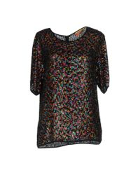 Ashish | Black Blouse | Lyst