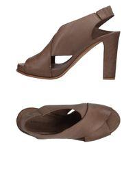 Roberto Del Carlo - Brown Sandals - Lyst