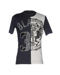 Diesel Black Gold - Blue T-shirt for Men - Lyst