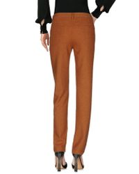 Massimo Alba - Brown Casual Pants - Lyst