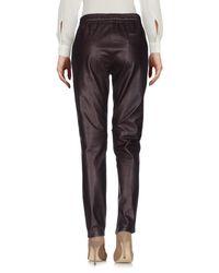 Leon & Harper - Purple Casual Pants - Lyst