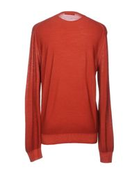 Ermenegildo Zegna - Red Jumper for Men - Lyst
