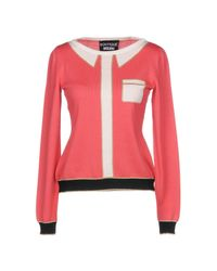Boutique Moschino - Pink Sweater - Lyst