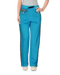 Moschino - Blue Casual Trouser - Lyst