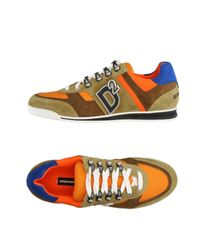 DSquared² | Orange Low-tops & Sneakers for Men | Lyst