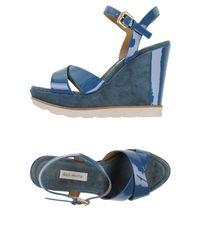 Deimille - Blue Sandals - Lyst