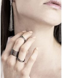 PAOLA GRANDE - Multicolor Rings - Lyst