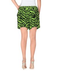 Boutique Moschino - Green Shorts - Lyst