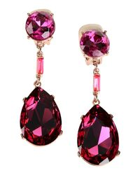 Oscar de la Renta - Multicolor Earrings - Lyst