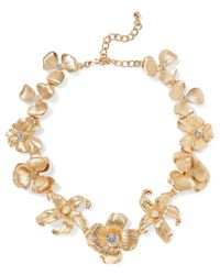 Kenneth Jay Lane - Metallic Necklace - Lyst
