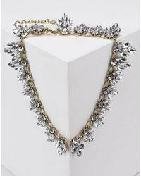 Jolie By Edward Spiers - Metallic Necklace - Lyst