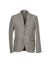 Officina 36 - Gray Blazers for Men - Lyst