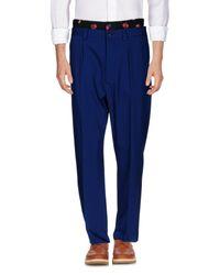 Christopher Kane - Blue Casual Trouser for Men - Lyst