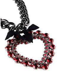 Lanvin - Red Necklace - Lyst