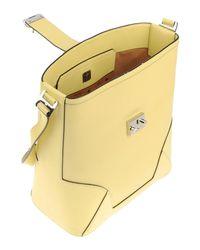 MCM - Yellow Shoulder Bag - Lyst