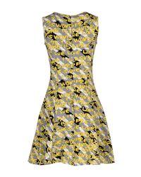 I Blues Gray Short Dress