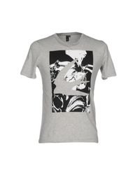 McQ Alexander McQueen - Gray T-shirt for Men - Lyst