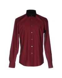 Lanvin - Red Shirts for Men - Lyst
